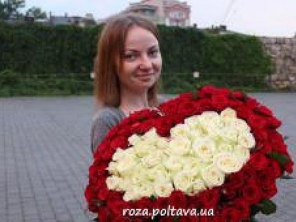 Доставка цветов Полтава